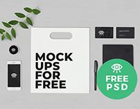 Stationary Set #1 / Free PSD Mockup