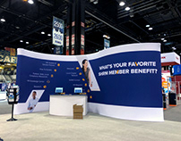 2018 SHRM Booth Graphics and Certification Lounge