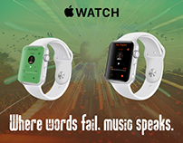 iWatch music app