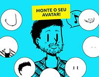 Hotsite Monte Seu Avatar - Newton