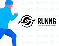 RUNNG - Xtrem running webzine concept