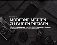 mediengestalt.biz • Freelance Brand Redesign