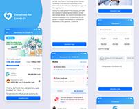 Donation COVID-19 App UI/UX Design