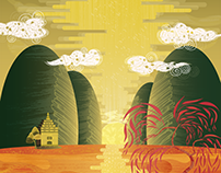 Chinese Vector Landscape
