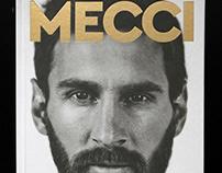 Messi / Ronaldo Book Series Design
