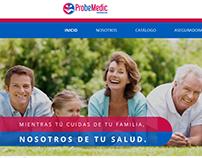 ProbeMedic Sitio Web