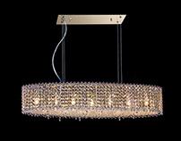 Chandelier, lamp