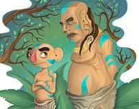 Ilustración - Hola abuelo - Hamuk & Chiú