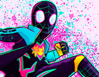 Spidersona - Spiderman Into the Spiderverse