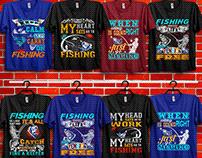 fishing t-shirt bundle.