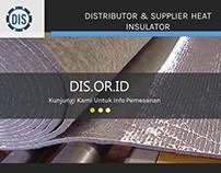 Distributor & Supplier Heat Insulator
