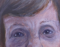 Grandma Jo- Acrylic Painting 2016