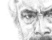 Toshiro Mifune sketch