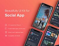 Social App UI Kit
