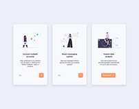 Day 877 Mobile Onboarding UI Design