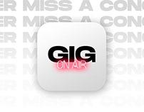GIG // App Concept
