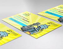 Comic Robot Banner/Flyer