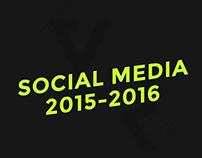 Social Media 2015 - 2016
