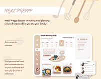 Meal Preppp - Dashboard