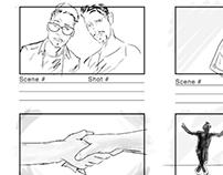 """Tudo Bom"" (music video) storyboards"