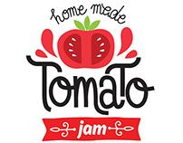 Tomato Jam Label