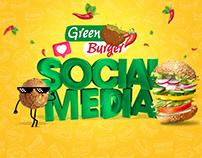 Green Burger SocialMedia