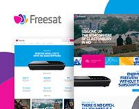 Freesat website redesign