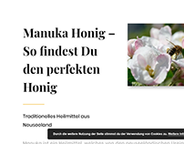 Projekt Manuka Honig