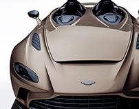2020 Aston Martin V12 Speedster Desert Sand