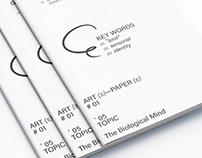 Com' ma ISSUE 00 _ Contemporary Art Magazine