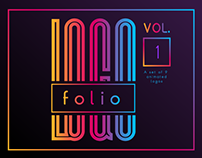 Logofolio vol. 1 — animated logo collection