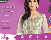 Yuva clothing ecommerce site