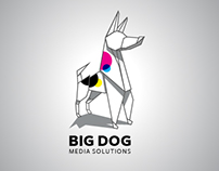 Proposed logo for Big Dog Media Solutions