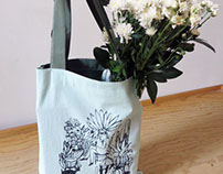 "TOTE BAG ""En mi jardín secreto"" / ""In my secret garden"""
