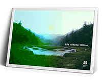National Trust / 'Life Is Better Offline'