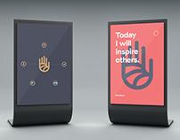 Handprint Kiosk
