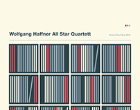 Wolfgang Haffner All Star Quartett Screenprint 2016