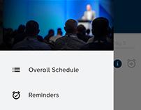 Schedule App UI/UX