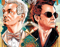 Good Omens : Alternate Movie Poster
