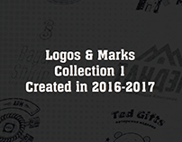 Logos & Marks Collection 1 Created in 2016 - 2017