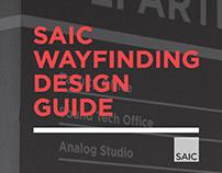 SAIC Wayfinding Design Guide