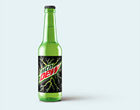 Mountain Dew - New Package Design