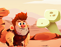Pitfall Game -Prehistoric Age
