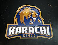 (PSL) Karachi Kings Squads Ident