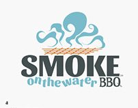 Smoke on the water BBQ Shack Rebrand
