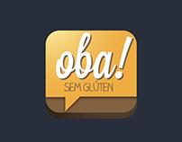 Icon proposal for app Oba Sem Gluten
