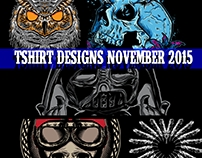 TSHIRT DESIGNS NOVEMBER 2015