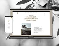 Béatrice Cherpin - Web design