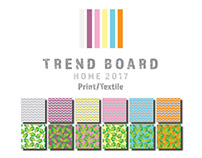 Trend Board 2017 - HOME Print/Textile