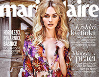 Marie Claire CZ Cover May 2015 Niki Hajdu